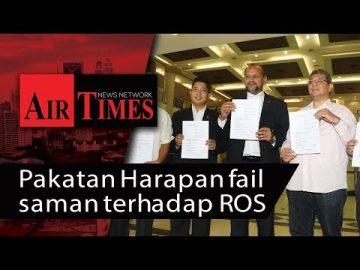 Pakatan Harapan fail saman terhadap ROS