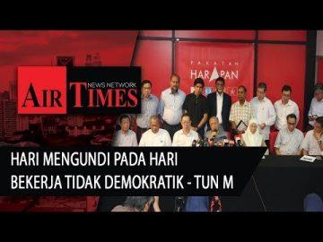 Hari Mengundi pada hari berkerja tidak demokratik – Tun M