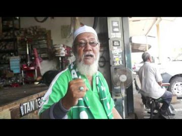 Interview ahli #PAS Hj Majid bin Taib di Kuala Rompin sempena #PRKRompin