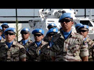 #Airtimes: Perbarisan Ulang Tahun TUDM ke 58 dari pegawai dan anggota MALBATT 850-3 di Kem Marakah