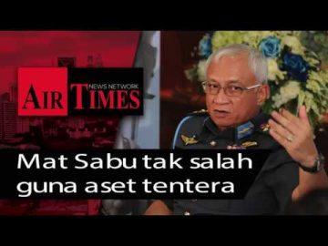Mat Sabu tak salah guna aset tentera
