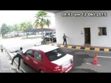 #AirTimes: Gempar Bila Pengawal di Hospital Angkatan Tentera Tuanku Mizan Dirempuh Penceroboh