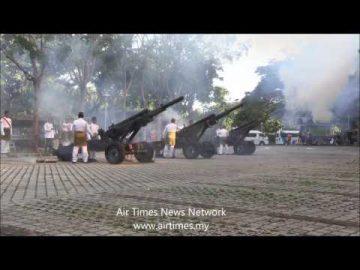 #AirTimes: Tembakan Kehormatan 21 Das Meriam M102 Howitzer