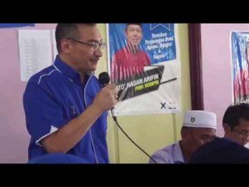 #AIrTimes: Datuk Seri Hishamuddin Hussein bersama pengundi di Felda Keratong 4