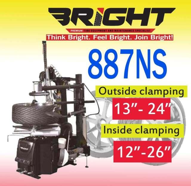 For sale and buy Bright 887NS Tire changer in Philippines-davao-cebu-cagayan-de-oro-metro-manila