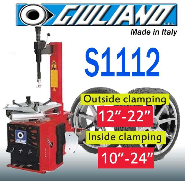 For sale and buy the most affordable Giuliano S1112 Tire changer in Philippines-davao-cebu-cagayan-de-oro-metro-manila