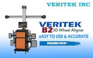 For sale the Most affordabel and reliable Wheel aligner machine, the Veritek B2 3D wheel aligner system