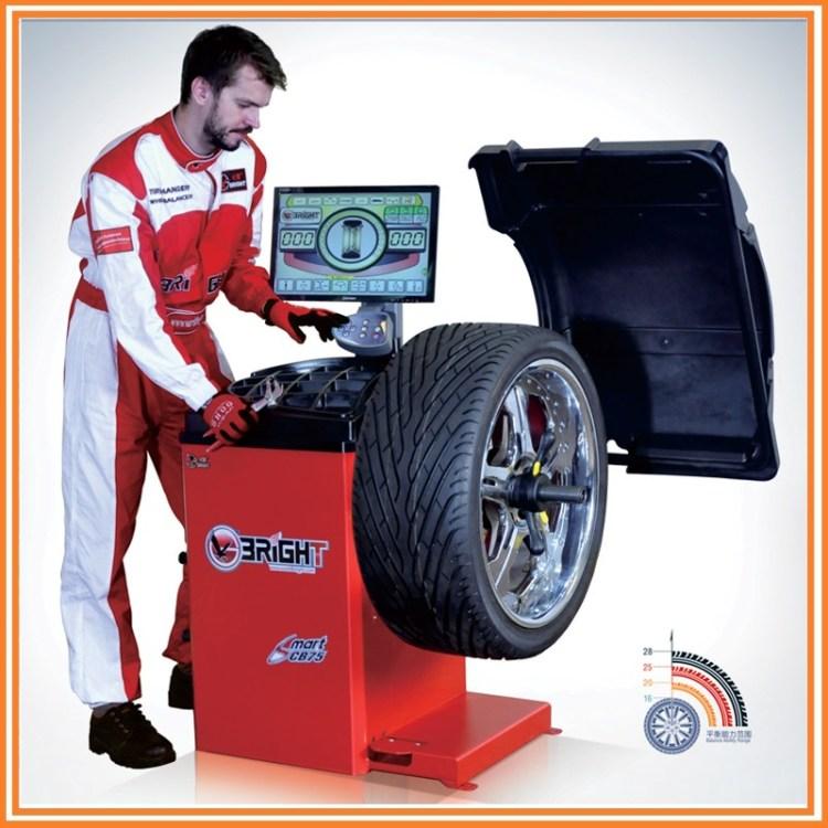 Bright CB75 Portable Digital Wheel Balancing Machine, Wheel Balancer With LED Display