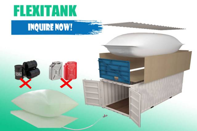 For sale flexitank in the Philippines- imported by henry import and export corporation & veritek incorporated