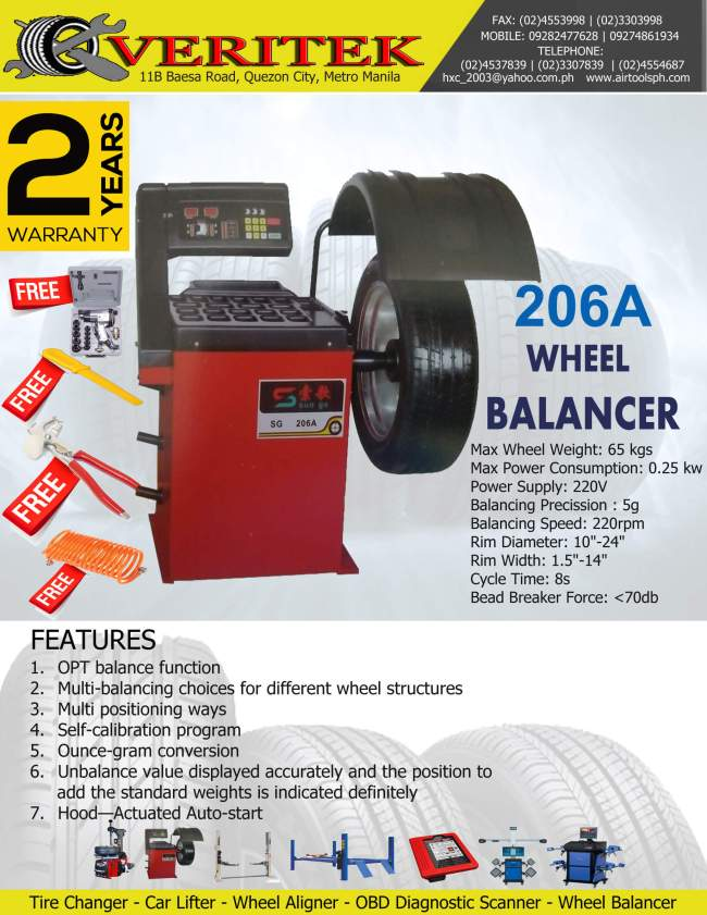 206a-wheel-balancer for sale in philippines
