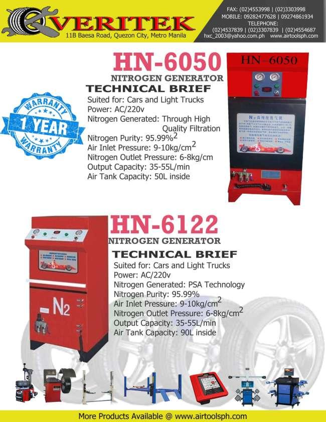 nitrogen-generator hn-6122 for sale in philippines