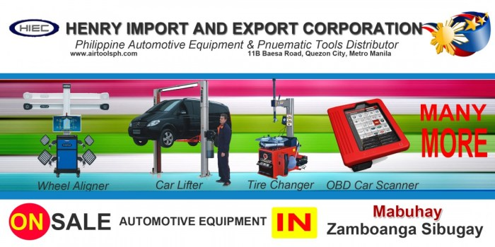 For sale Automotive Equipment and in Mabuhay Zambonga Sibugay-Car lifter-tire changer-wheel aligner-scanner-engine-car,Abunda,Bagong Silang (Tumalog),Bangkaw-bangkaw,Caliran (Turko),Catipan,Kauswagan,Ligaya,Looc-Barlac,Malinao (Sagasa),Pamansaan,Pinalim (San Roque),Poblacion (Mabuhay),Punawan,Santo Niño (Tobi-an),Sawa,Sioton,Taguisian,Tandu-Comot (Katipunan)