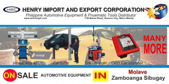 For sale Automotive Equipment and in Molave Zambonga Sibugay-Car lifter-tire changer-wheel aligner-scanner-engine-car,Alicia,Ariosa,Bagong Argao,Bagong Gutlang,Blancia,Bogo Capalaran,Culo,Dalaon,Dipolo,Dontulan,Gonosan,Lower Dimalinao,Pablo Bahinting Sr. (Lower Dimorok),Mabuhay,Madasigon (Pob.),Makuguihon (Pob.),Maloloy-on (Pob.),Miligan,Parasan,Rizal,Santo Rosario,Silangit,Simata,Sudlon,Upper Dimorok