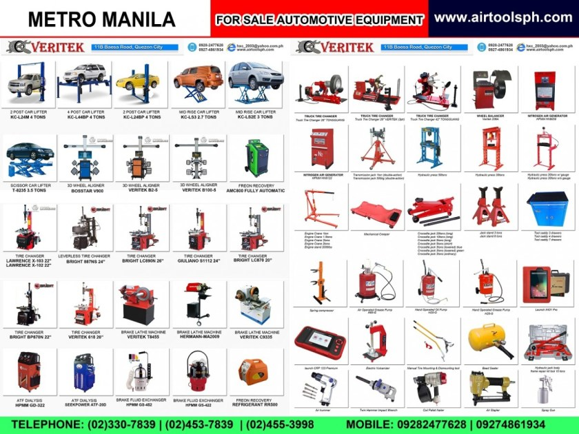 For sale Automotive Accessories in Muntinlupa City,For sale Air Drill in Muntinlupa City,For sale Air Hammer in Muntinlupa City,For sale Air Impact Wrench in Muntinlupa City,For sale Air Staplers in Muntinlupa City,For sale Automotive Diagnostic Scanner in Muntinlupa City,For sale Bead Seater in Muntinlupa City,For sale Brake Lathe in Muntinlupa City,For sale Car Lifter in Muntinlupa City,For sale City Products in Muntinlupa City,For sale Coil Nailer in Muntinlupa City,For sale Engine Crane in Muntinlupa City,For sale Flexitank in Muntinlupa City,For sale Freon Recovery in Muntinlupa City,For sale Hydraulic Press in Muntinlupa City,For sale Jack Stand in Muntinlupa City,For sale Manual Tire Mounting Tool in Muntinlupa City,For sale Nitrogen Generator in Muntinlupa City,For sale Oil Reset DIY in Muntinlupa City,For sale Our Client in Muntinlupa City,For sale Spray Gun in Muntinlupa City,For sale Spring Compressor in Muntinlupa City,For sale Tire Changer in Muntinlupa City,For sale Tool Caddy in Muntinlupa City,For sale Transmission Fluid Exchanger in Muntinlupa City,For sale Transmission Jack in Muntinlupa City,For sale Truck Tire Changer in Muntinlupa City,For sale Wheel Aligner in Muntinlupa City,For sale Wheel Balancing Machine in Muntinlupa City