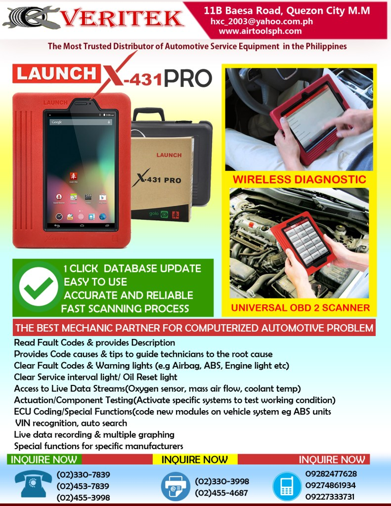 Launch x431 pro,Autel scanner,g-scanner scanner,universal scanner,foxwell scanner,Launch X-431 Pro - Universal Automotive Scanner,LAUNCH X431 PRO-Philippines