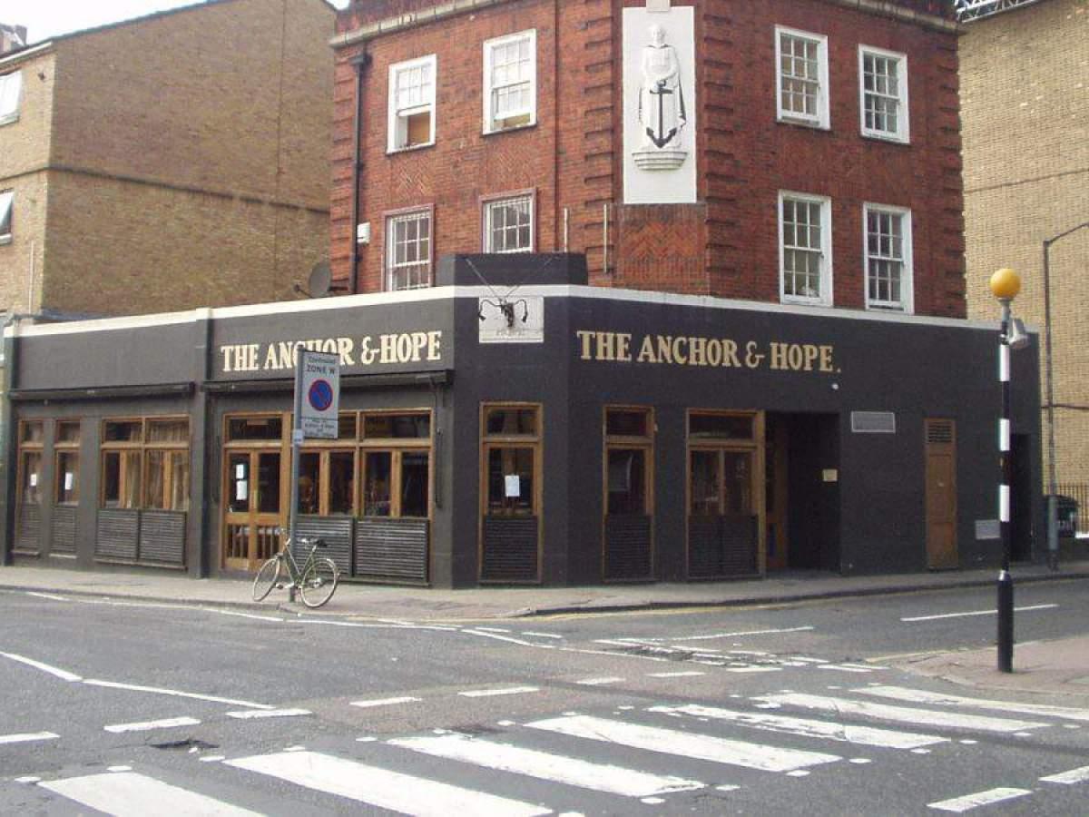 Bien manger à Londres: Anchor and Hope - Photo par Bob Walker sous CC BY-SA 2.0