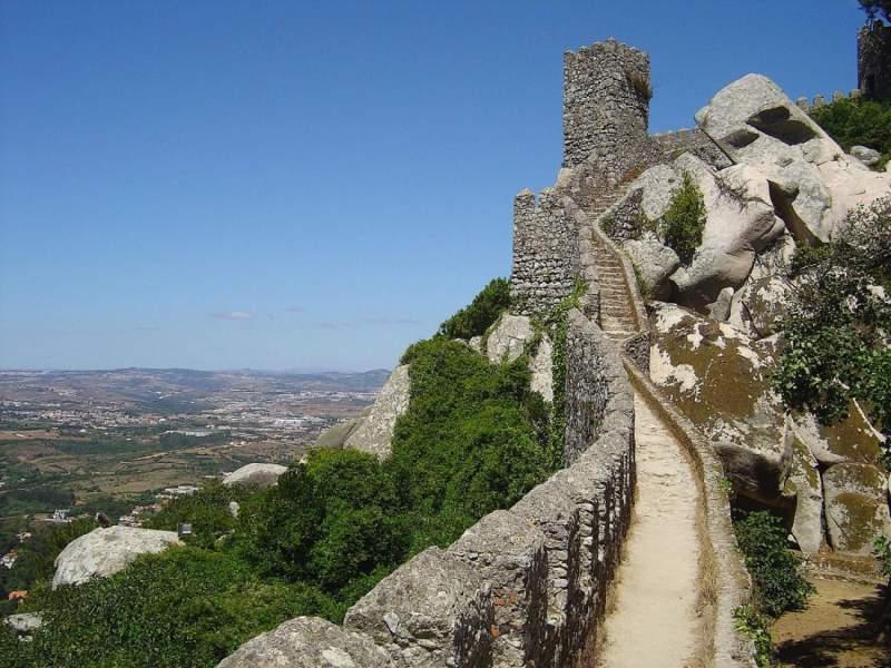 Autour de Lisbonne: Castelo dos Mouros - Photo par Rei-artur sous CC BY 2.0
