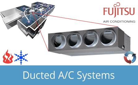 Fujitsu Ducted Inverter Systems Canberra