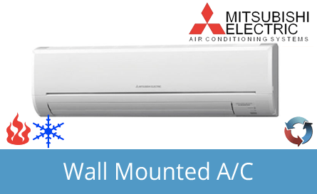 Mitsubishi Electric Wall Mounted Air Conditioning Systems