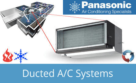 Panasonic Ducted Inverter Systems Canberra