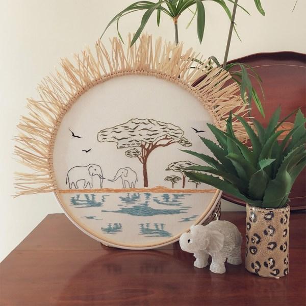 Airun Home bordado modelo Serengueti
