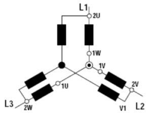 17. Schémas de branchement electrique moteur triphasé