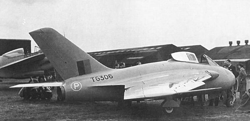 Second Prototype DH.108 TG306
