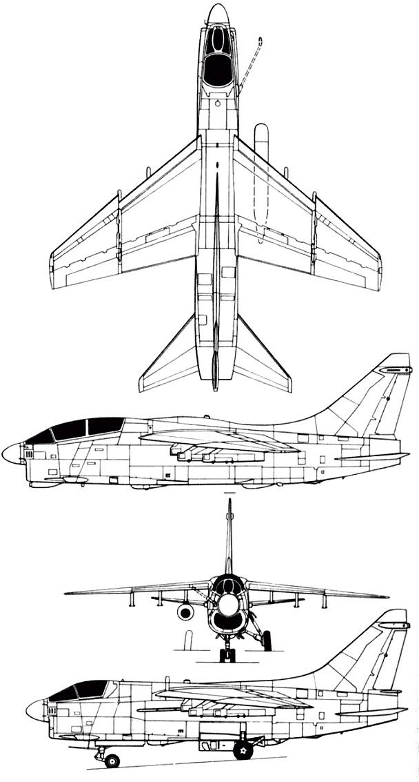Vought A-7 Corsair II / F-8 Crusader PDF eBook & Manuals
