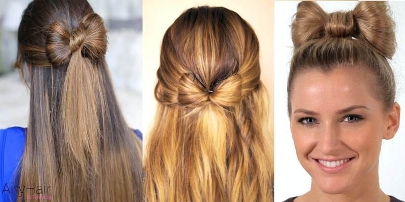 How do you make a bow with your hair howsto hair bow 7 new years eve hairstyles that will make you shine urmus Choice Image