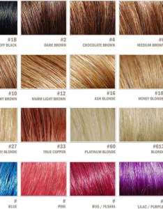 also complete hair extensions color chart palette guide rh airyhair