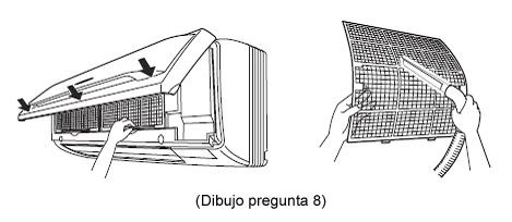 Limpiar Filtros Aire Por Conductos. Great Aire Fujitsu