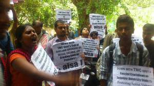 AISA protest 18th Sept resodent commissioner of bengal