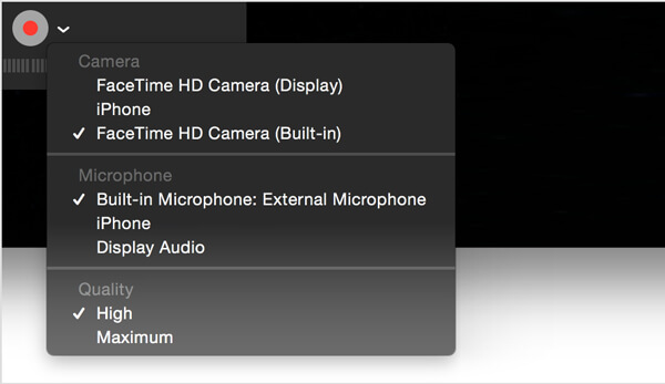 QuickTime Screen Audio Recording-How to Record Video and Audio quickly