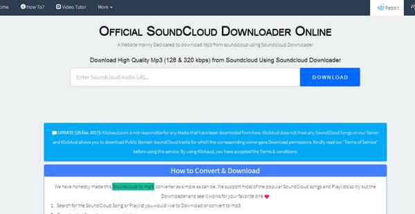 SoundCloud Converter  DownloadConvert SoundCloud Songs