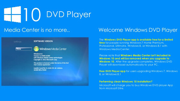 windows dvd player dvd