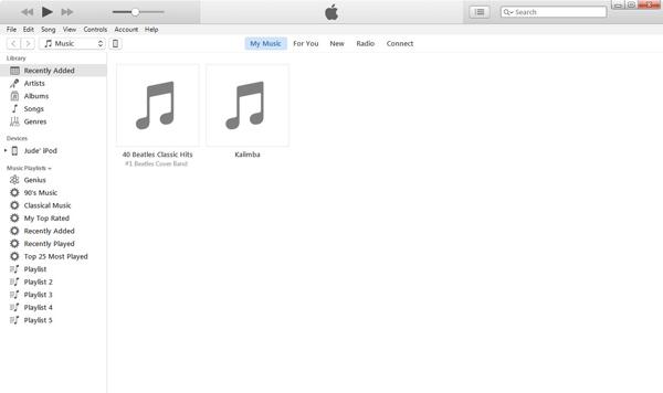 Transferir músicas do iTunes para o iPod