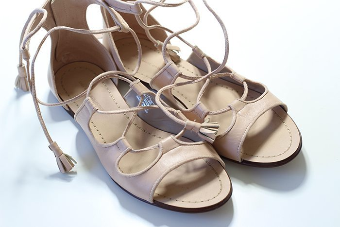 Sandalias de tiras Zara