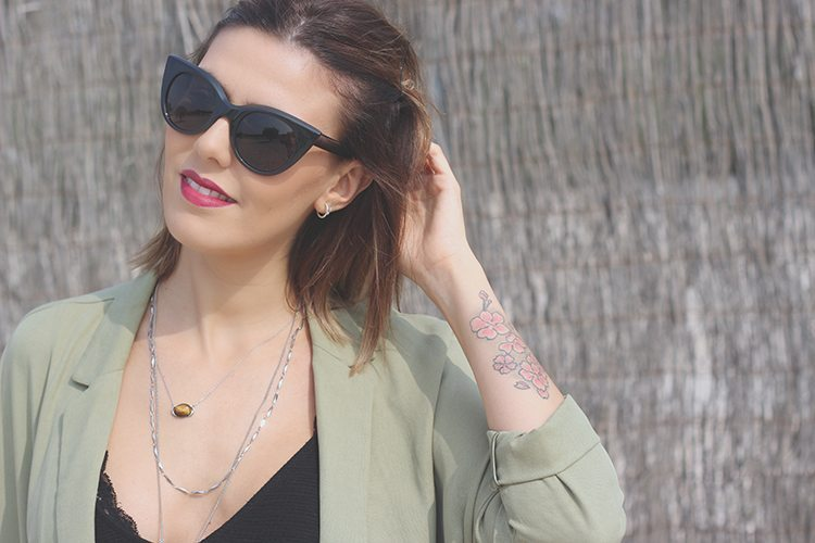OUTFIT: blazer militar oversize