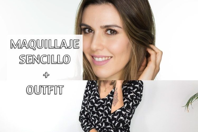 Maquillaje express nude con Kiko + outfit