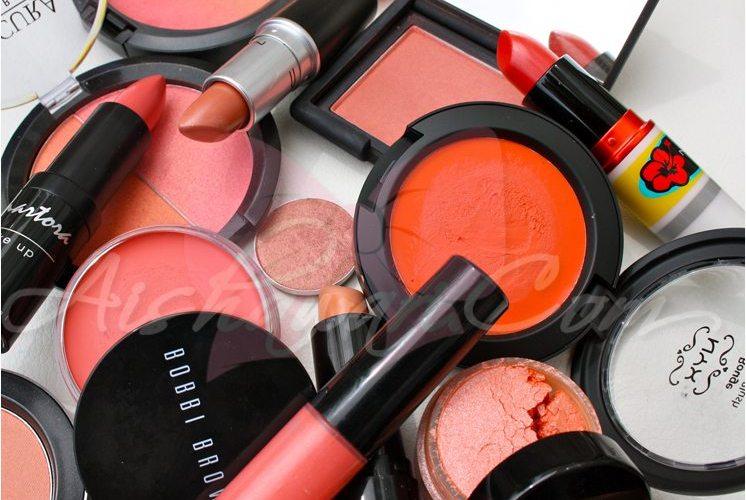 Maquillaje:El color de moda