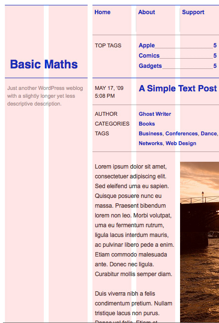 Basic Maths WordPress Theme | AisleOne