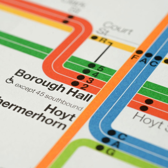 2012 MTA New York City Subway Diagram