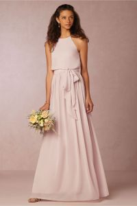 Halter Style Bridesmaid Dresses - Flower Girl Dresses