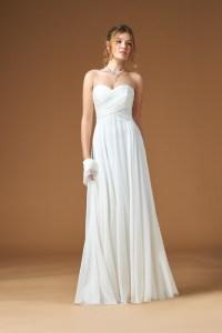 Wedding Dresses Chiffon Strapless - Bridesmaid Dresses