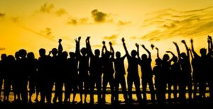 Immagine di persone in gruppo