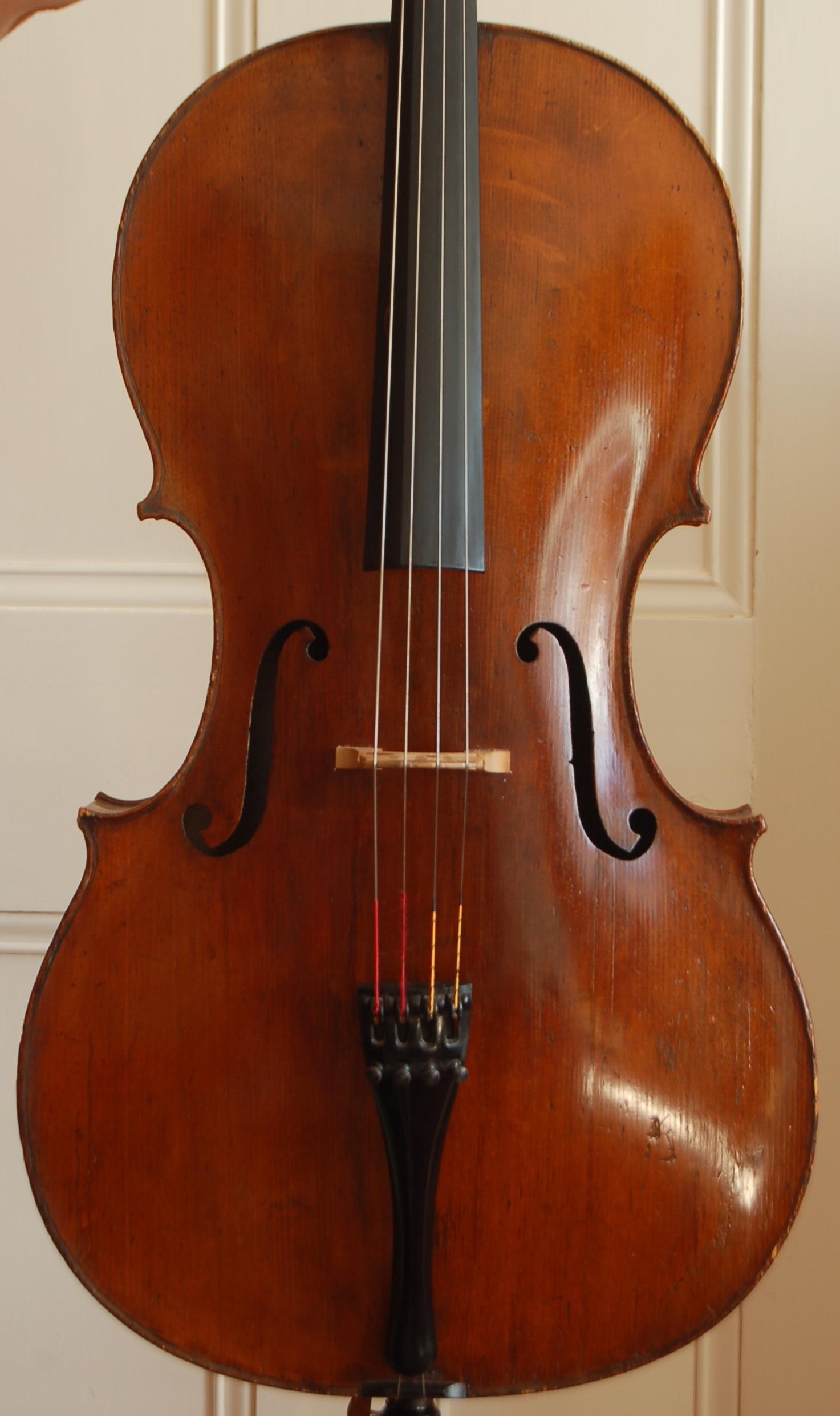 guersan school cello front