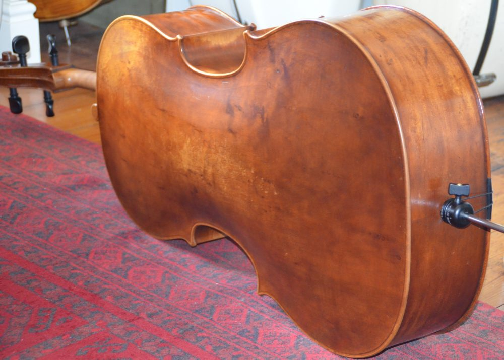 cello maker articles - Aitchison & Mnatzaganian Cello Specialists - Marquis de Corberon copy by Robin Aitchison