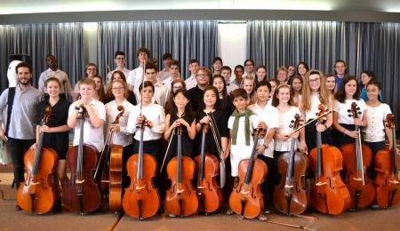 Cello courses and events - students at Oxford cello school