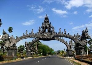 Gapura Gilimanuk Bali Indonesia