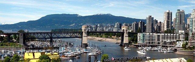 Vancouver Bridge Columbia British Canada